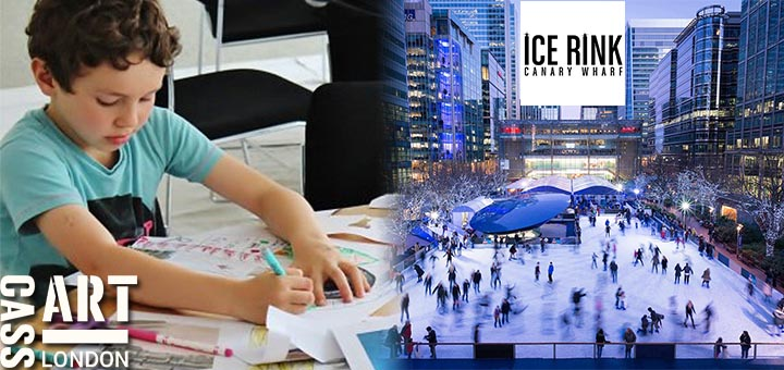 architecture_workshop_cass_art_hampstead_canary_wharf_ice_skating_rink_littlebird