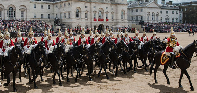 TroopingColour