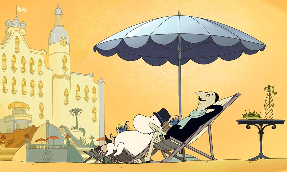 Moomins on the Riviera film