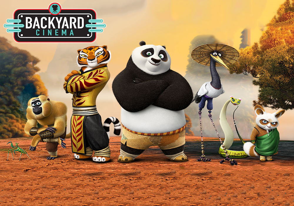 Kung Fu Panda 3 at Backyard Cinema's Celebration of Film