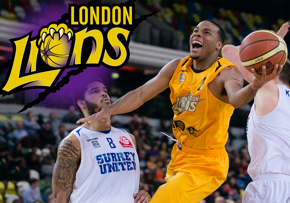 London Lion's Basketball Team