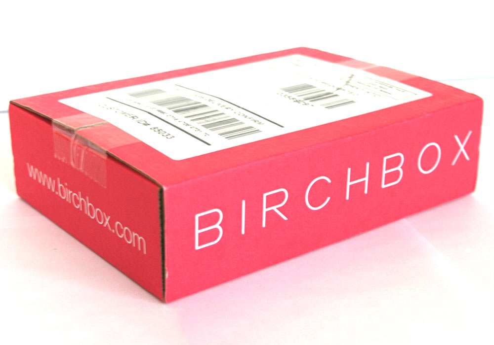 An example of what your Birchbox package may look like