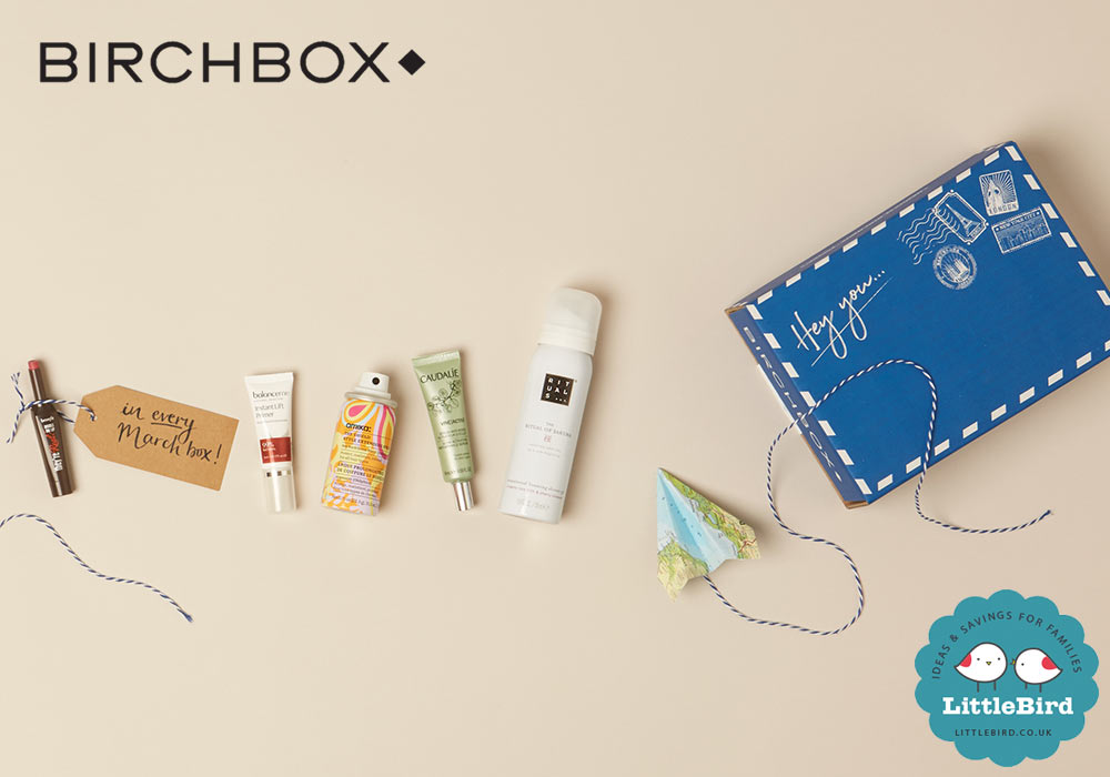 LittleBird and Birchbox have teamed up to offer you a great deal on a monthly subscription