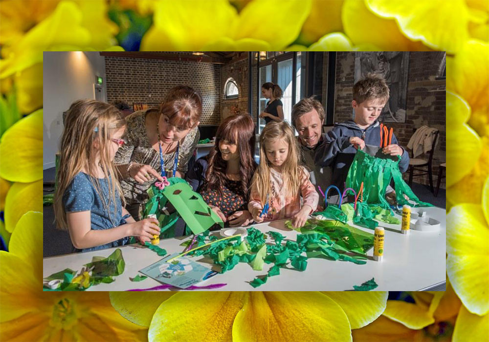 Build A Mini Blossoming Station at the Museum of London Docklands