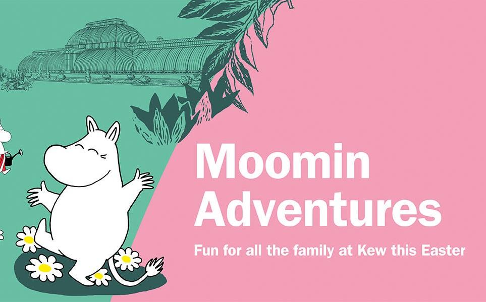 moomin adventures kew gardens